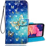 Anffy Galaxy A10E Wallet Case[3D Style] TPU&PU Leather Case with Kickstand,Multi-Function Flip Phone Case Cove Skin for…