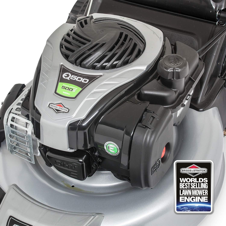 Murray EQ500 - Cortacésped de gasolina autopropulsado de empuje de 46 cm con motor Briggs & Stratton 500E Series