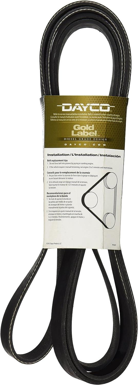 Dayco Poly Rib Gold Label V-Ribbed Belt 5081041