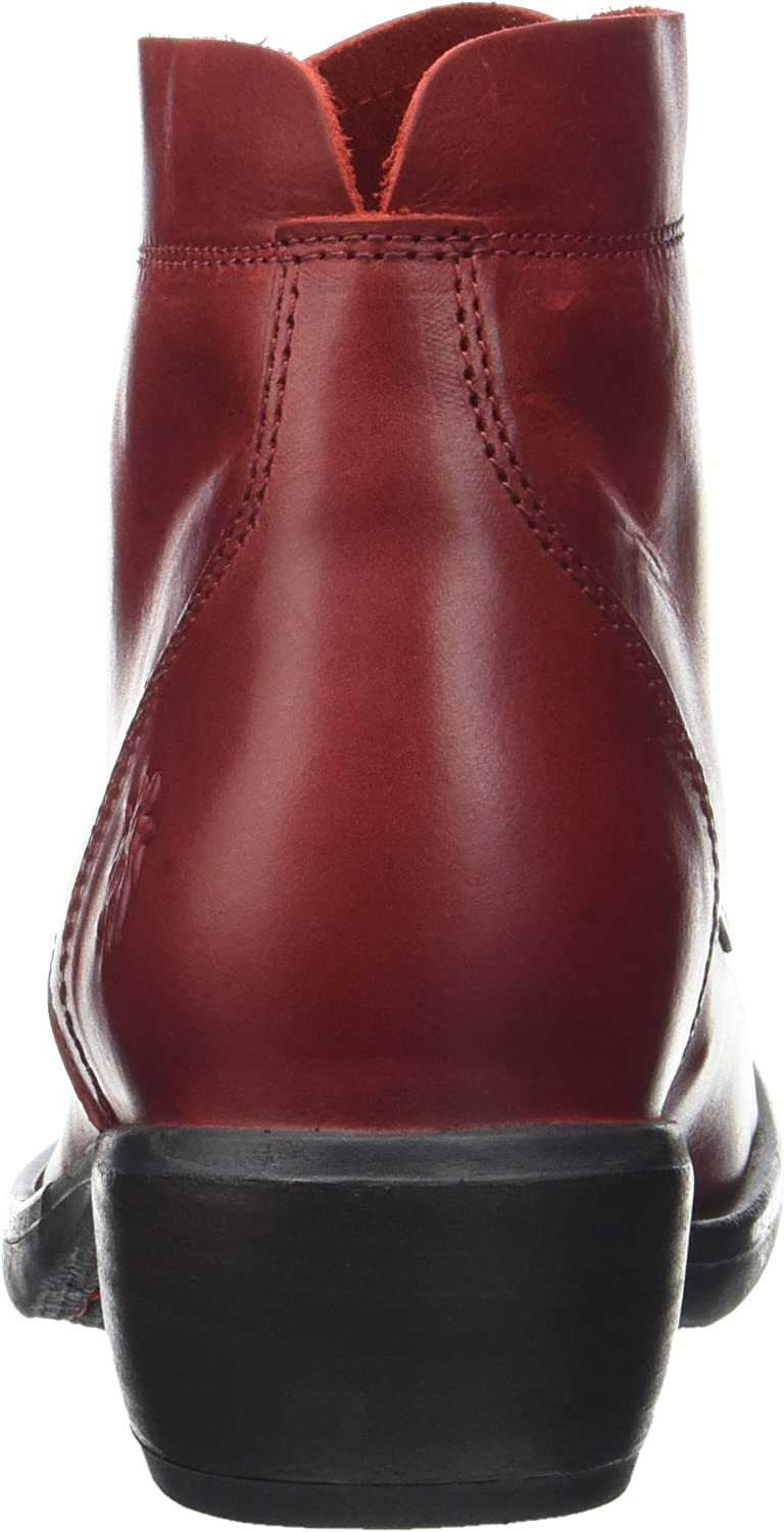 Fly London Mesu780fly, Bottes Femme Rouge Red