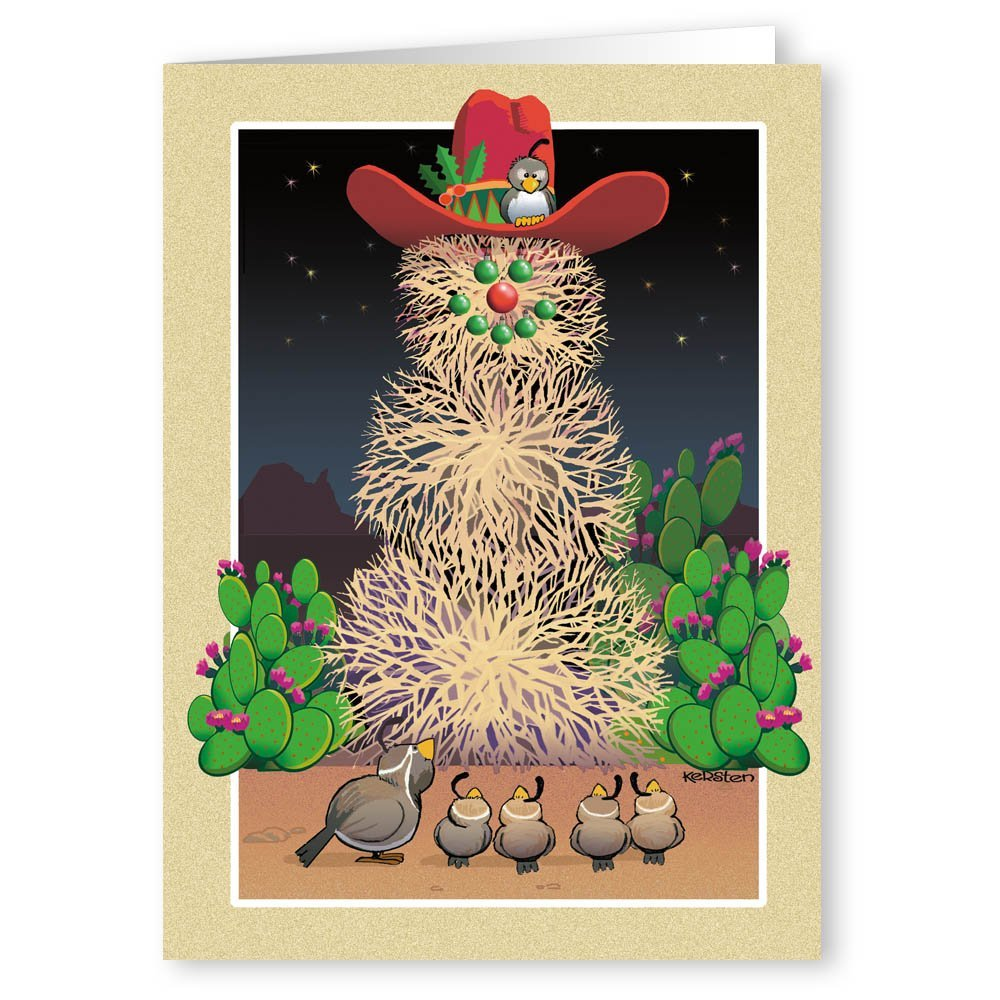 Amazon.com: Christmas in the Desert - Christmas Card - 18 Cards ...
