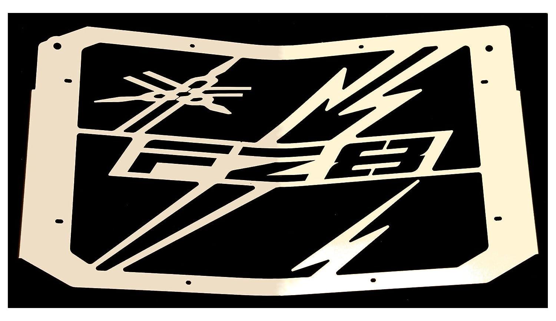 cache radiateur grille de radiateur Yamaha 800 FZ8 et FZ8 Fazer 1016 design /«Eclair/»