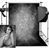 Photography Backdrop, 1.5 x 2.2 m Retro Art Abstract Smoked Grey Portrait Backdrop For Studio Props Photo Backdrop
