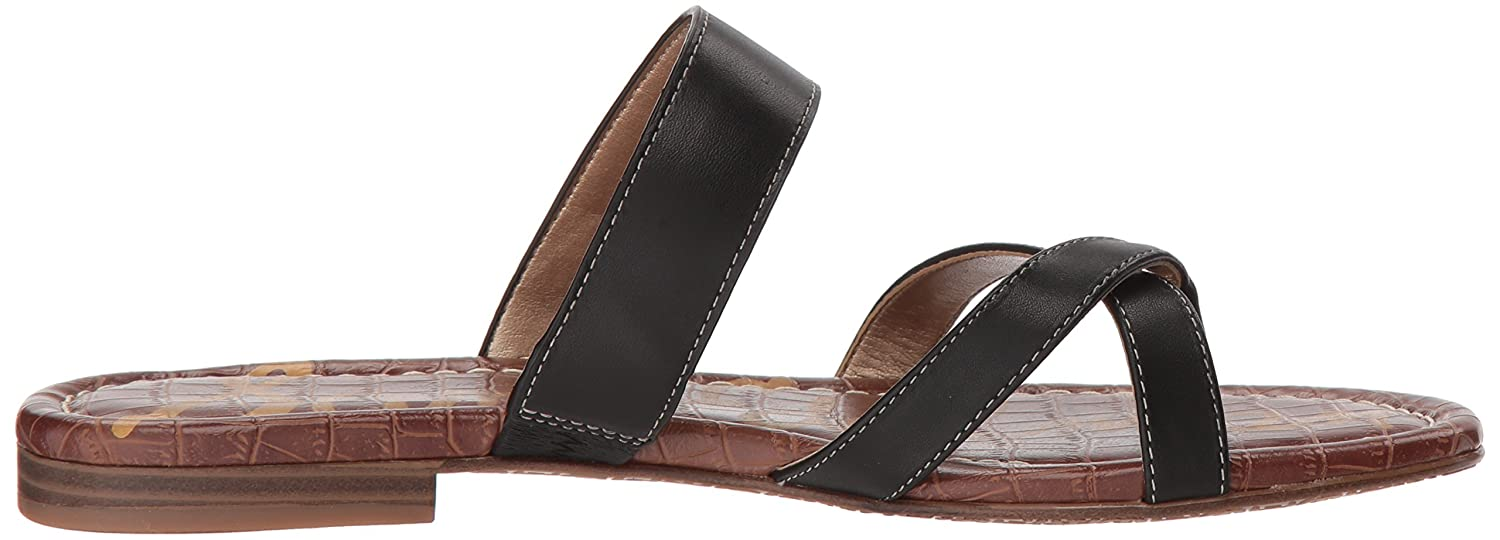 Sam Edelman Women's Bernice Slide Sandal B078HJ3NFD 11 B(M) US|Black Leather