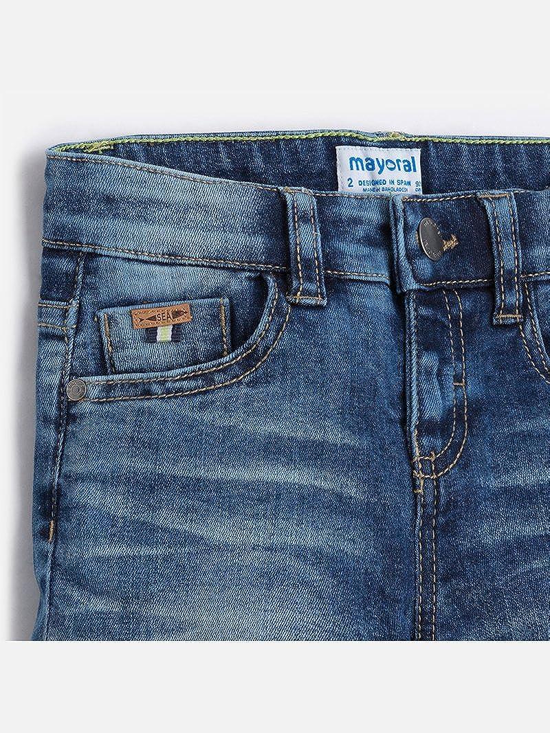 Basic 5p Denim Shorts for Boys Mayoral 3260