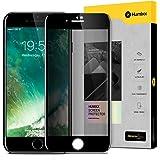【Humixx】iPhone 8 ガラスフィルム iPhone 7 ガラスフィルム iPhone8 フィルム アイフォン7フィルム [覗き見防止] [プライバシー保護] [0.3mm 気泡レス] [3D Touch対応][FK Series][ブラック]