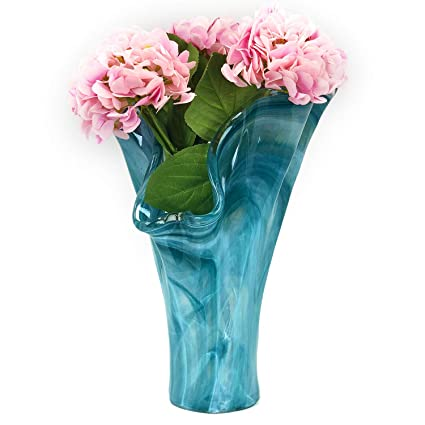 Amazon.com: Antico Murano Hand Blown Murano Gl Teal Tall Vase ... on art glass flower vase, blue glass vase, waterford flower vase, yellow flower vase, murano ashtray, lalique flower vase, artificial sunflowers in vase, bamboo flower vase, murano bowl, poetry flower vase, heisey flower vase, snoopy flower vase, tiffany glass flower vase, murano plates, carnival glass flower vase, swarovski flower vase, murano dish, murano figurine, green flower vase, murano art,