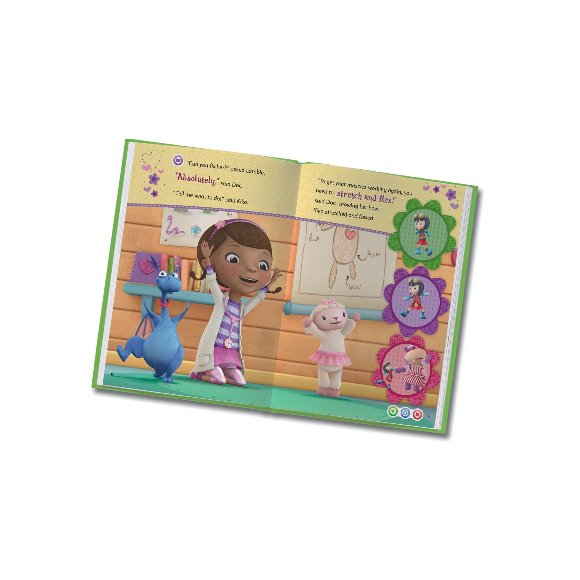 LeapFrog LeapReader: Disney Doc McStuffins: The New Girl Read On Your Own Book works with Tag by LeapFrog (Image #5)