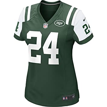Nike New York Jets NFL Game Team Jersey Camiseta de Manga Corta, Mujer, (