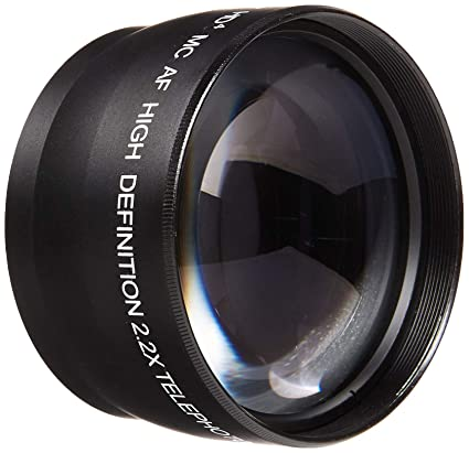 a4f1a02df4 Amazon.com   52mm Lens Bundle  Vivitar 2.2X Telephoto and 0.43x Wide ...