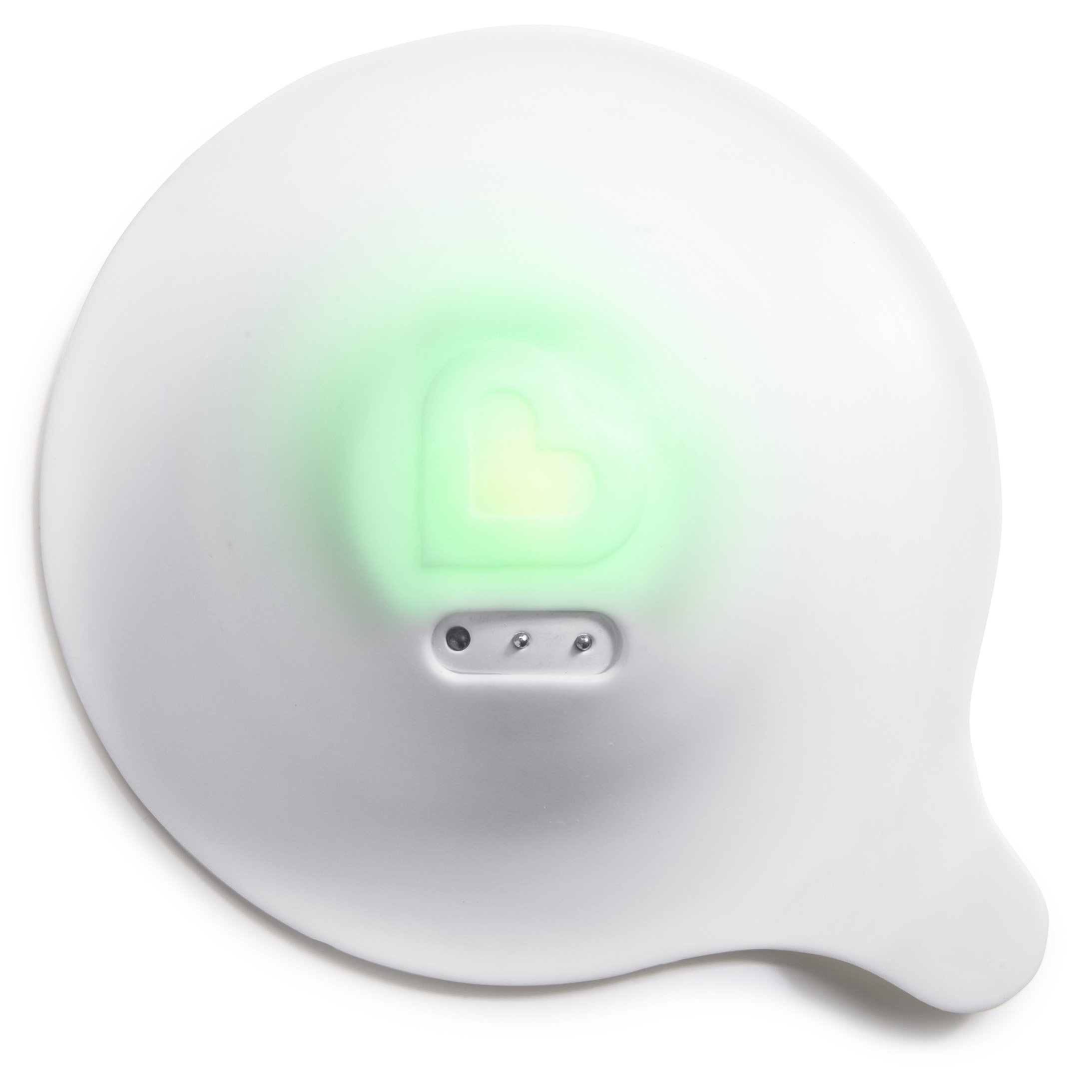 Munchkin Smartdrain Temperature Sensing Drain Cover, White