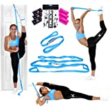 STUNT STAND BEST SELLING Door Flexibility & Stretching Leg Strap - Great for Cheer, Dance, Gymnastics or ANY Sport! FREE How-To-Use Links Included …