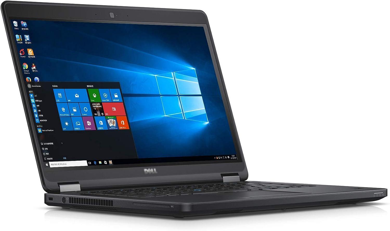 Used Laptop E5450 14-inch Computer Intel Core i5-5300U 2.3 Ghz Processor 8 GB DDR3L SDRAM RAM 128 GB SSD with Activated Windows 10 64-bit
