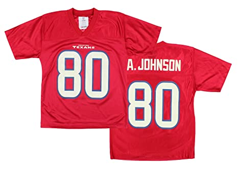 d9cf70662e4 Outerstuff Houston Texans Andre Johnson # 80 NFL Youth Big Boys Player  Jersey - Red (