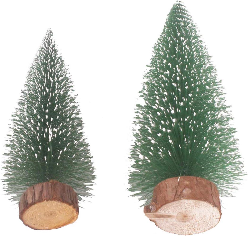 Small Christmas Tree, Desktop Miniature Pine Tree Tabletop Christmas Tree Small Pine Tree Decor Christmas Tree Toppers Mini Christmas Tree Set, Desktop Small Pine Tree