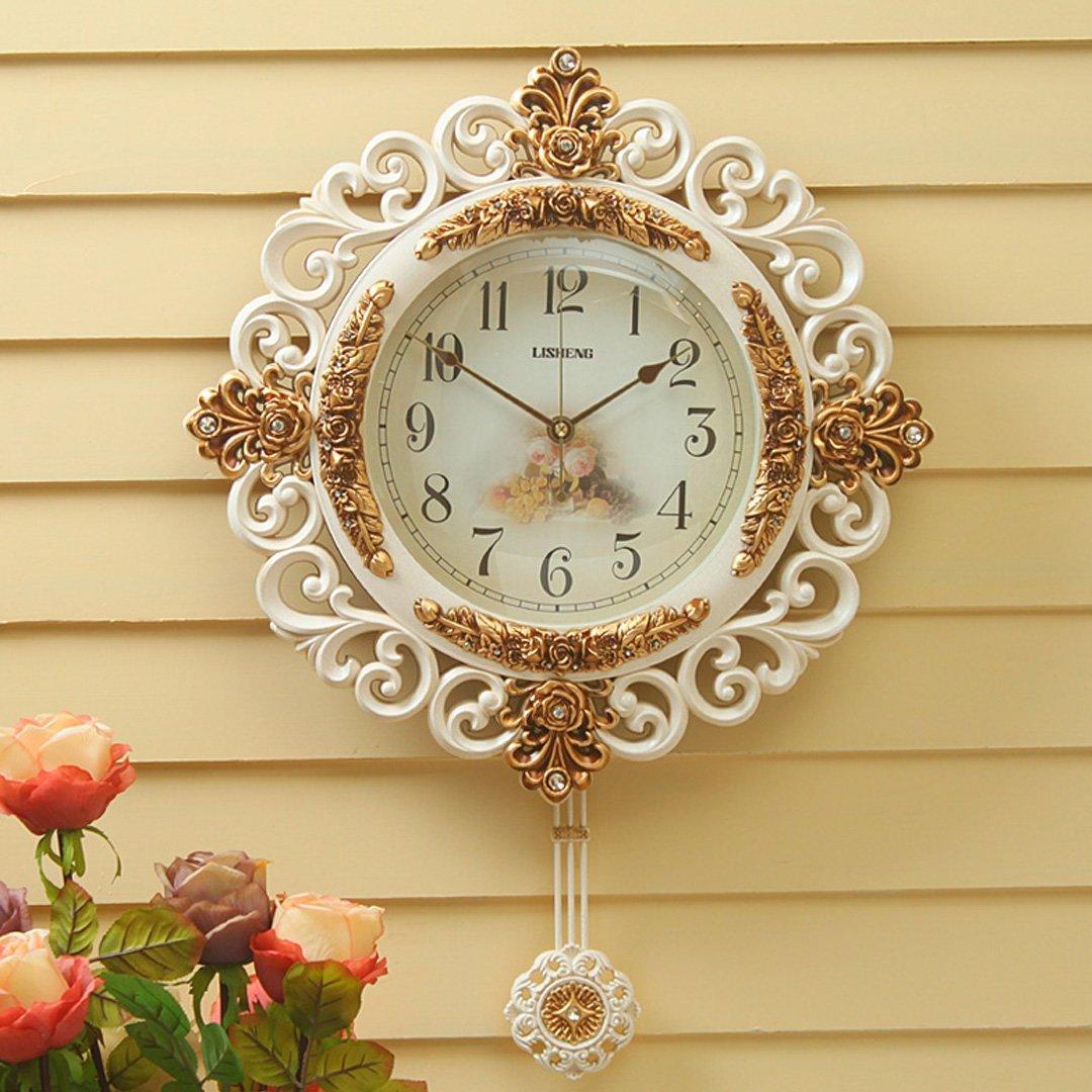 レトロ 現代 時計 掛け時計 リビング シズネ おしゃれ 掛時計 壁掛け リビング 飾り SFANY B07FNFYB83タイプ2