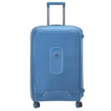 DELSEY Paris Moncey Maleta, 69 cm, 86 Liters, Azul (Bleu Clair): Amazon.es: Equipaje