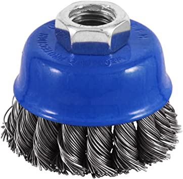 Recyclable, EAB Tool 2160402 4 Brass Coarse Wire Wheel Wire Brush