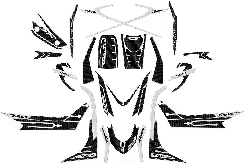 ONE BY CAMAMOTO CP PAAR AUFKLEBER//STICKER AUS HARZ 3D SCHRIFTZUG T-MAX FARBE SILBER KOMPATIBEL MIT