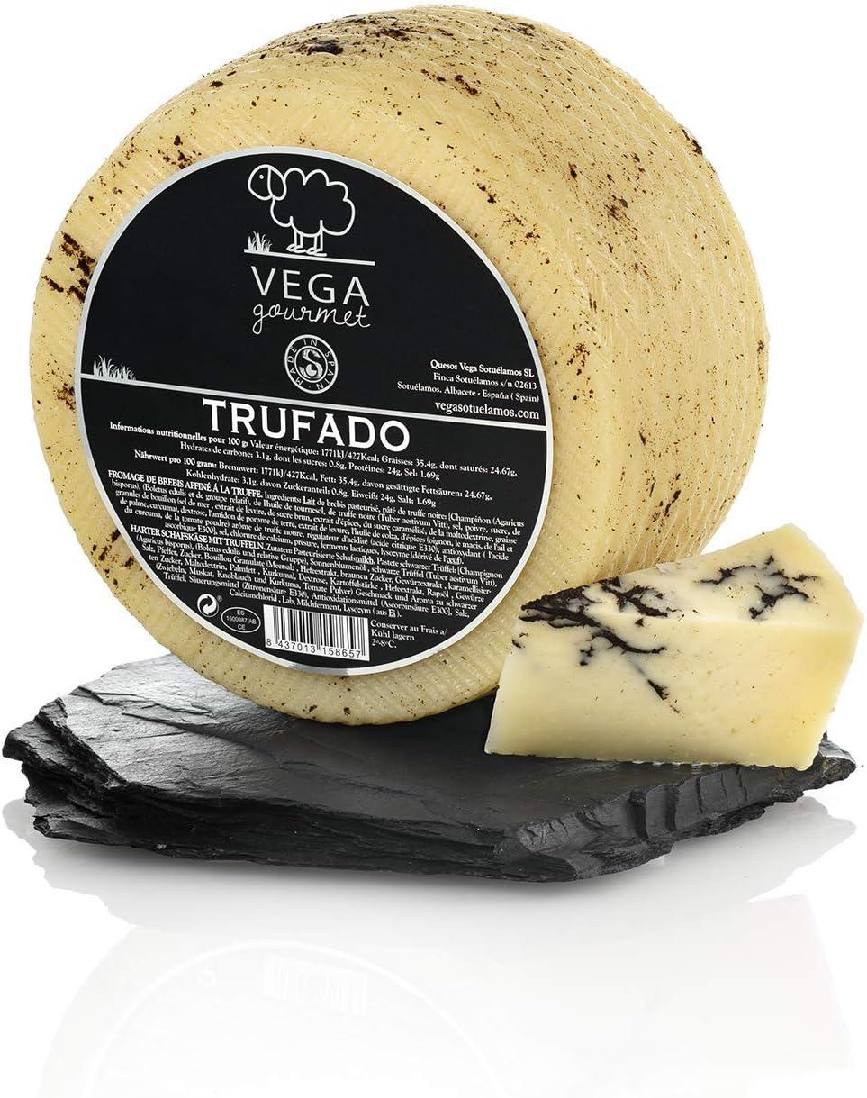 Queso de Oveja Curado a la Trufa Vega Gourmet 3,2 Kg: Amazon.es: Alimentación y bebidas