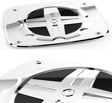 Chrome Side Mirror Garnish 2P For Hyundai Grand Starex H1 iLoad i800 2007 2015