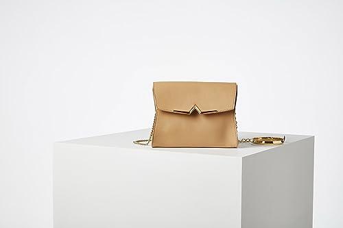 Mel Party Bracelet Francesca Evangelista Borsa a mano in pelle pregiata  liscia con bracciale placcato in vero oro.  Amazon.it  Scarpe e borse 012303ad512