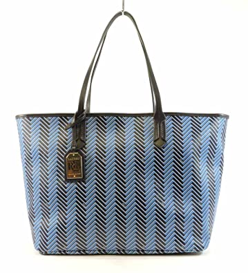 dc7576c82f5 Image Unavailable. Image not available for. Color  Lauren Ralph Lauren  Womens Boswell Classic Tote Fashionable Hand Bag Cyan Marine S