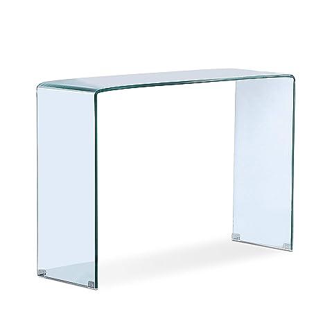 Adec - Glass, Recibidor de Cristal, Mueble Entrada Consola ...