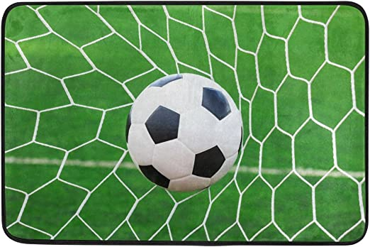 Use7 - Felpudo de Pelota de fútbol, Verde Hierba, para Interior y ...