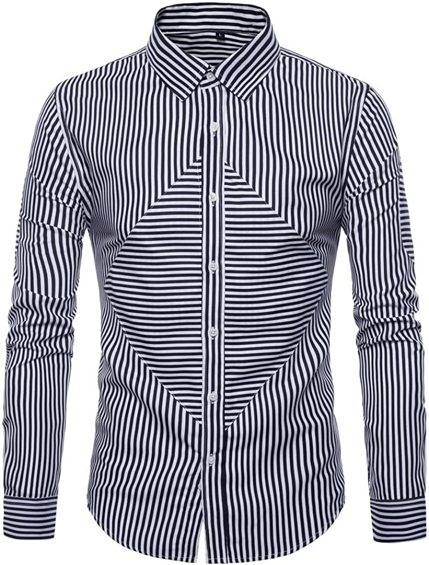 Camisa De Manga Larga De Algodón para Hombres Camisas ...