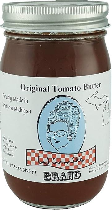 Amazon.com : Winnies Brand Original Tomato Butter 17.5oz ...