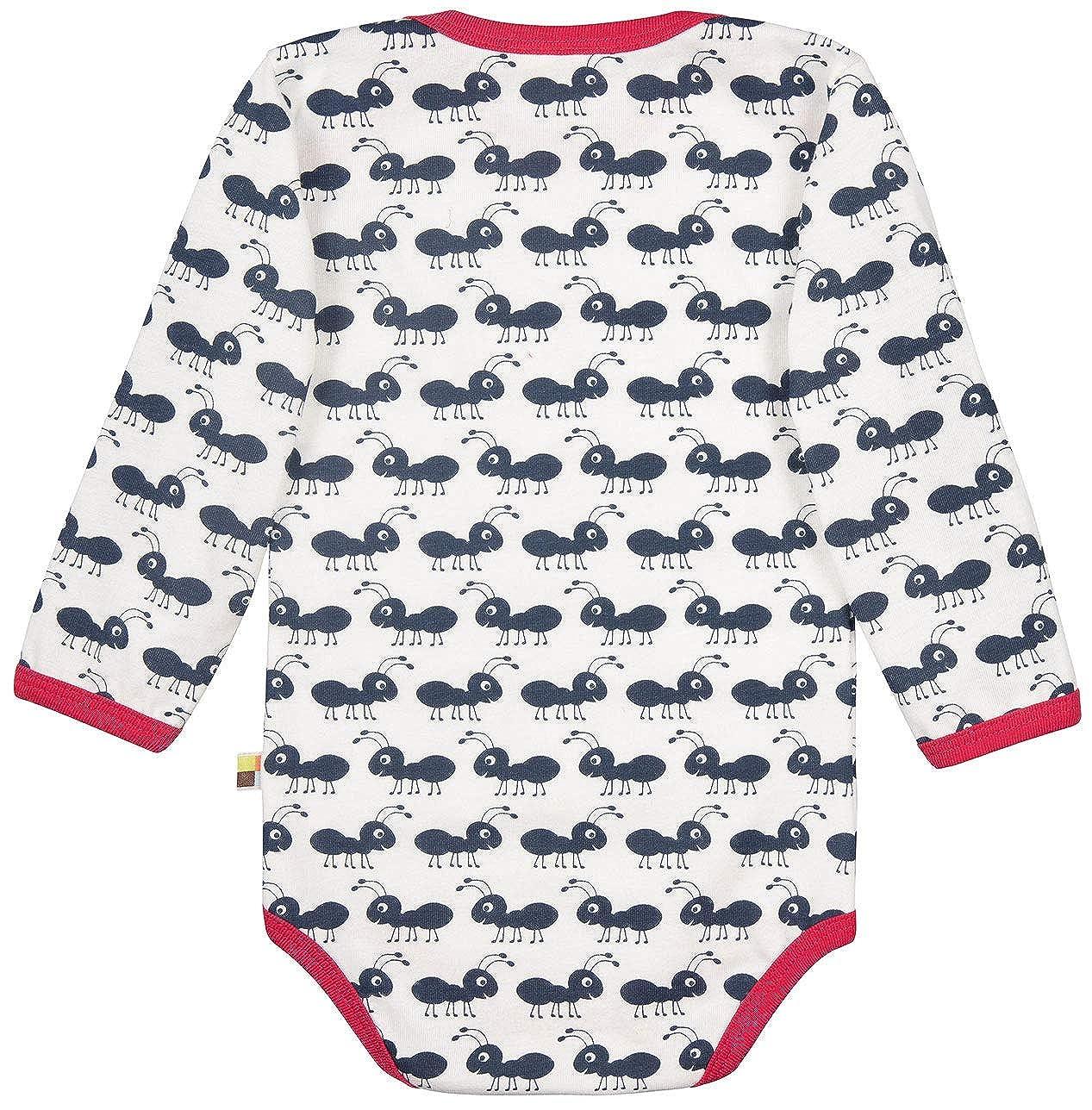 GOTS Zertifiziert loud proud Unisex Baby Spieler Body Langarm aus Bio Baumwolle