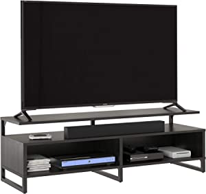 Ameriwood Home Whitby TV Stand, Black Oak