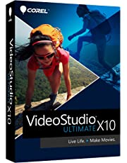Corel VideoStudio Ultimate v.X10, Box Pack, 1 User