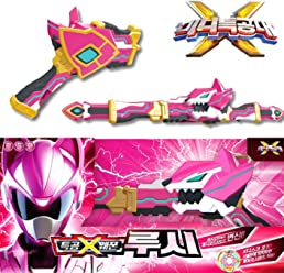 MINI FORCE Miniforce X Lucy Lucybot Weapon Ranger 3 Mode Transweapon + Gift