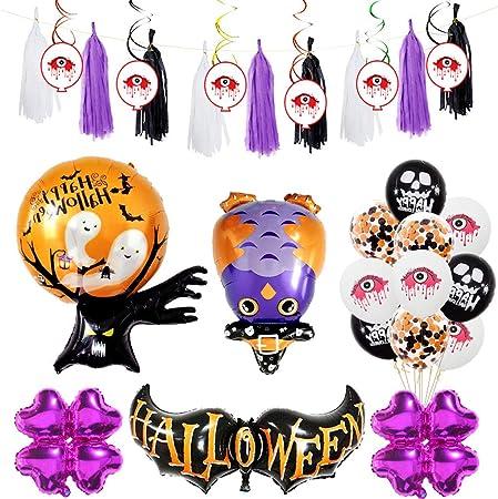 Gankmachine Halloween Party Supplies Party Favors Decoración All-in-One Theme Pack Partido de la Bruja Asistente ...