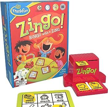 ThinkFun Zingo Bingo Puzzles Board Games