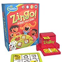ThinkFun Zingo Bingo Award Winning Preschool Game for Pre-Readers and Early Readers...