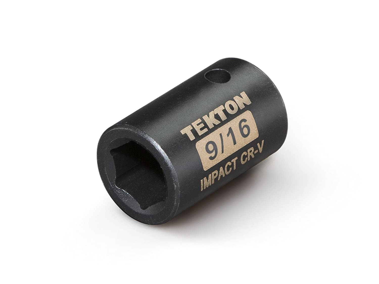 TEKTON 47758 1/2-Inch Drive by 15/16-Inch Shallow Impact Socket, Cr-V, 6-Point TEKTON 47758 1/2 in. Drive by 15/16 in. Shallow Impact Socket