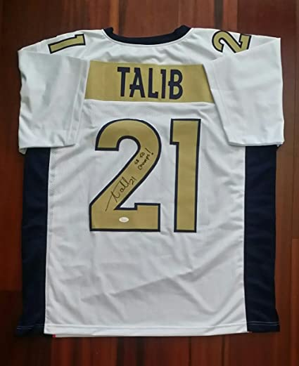 Image Unavailable. Image not available for. Color  Aqib Talib Signed  Autographed Jersey Denver Broncos ... 98132a96a