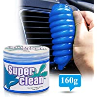Degbit Dust Cleaning Gel for Car Detailing Putty, Keyboard Cleaner for PC, Universal Dust Cleaner Mud Goo for Car Vent/Laptop/Cameras/Printer/Reusable, Cleaning Kit/Dust Remover Slime for Auto/Office