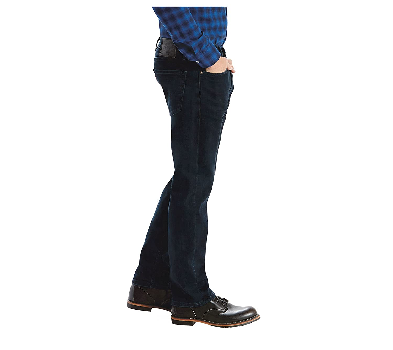 f6e39cf3b04 Levi's Men's 505 Regular Fit Jeans Dark Blue 40x36: Amazon.ca: Clothing &  Accessories