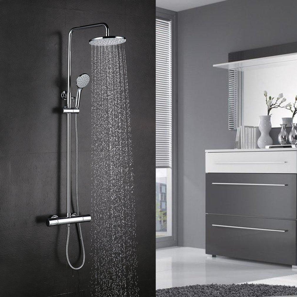 Kinse/® Robinet de baignoire en laiton cascade avec douche /à main Salle de bains mont/é Douchette