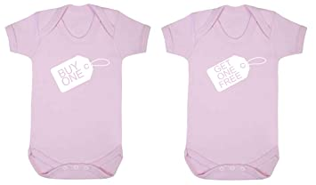 853b6eb96f TWINS Buy one get one free baby vest babygrow 2 pack set (3-6 months ...