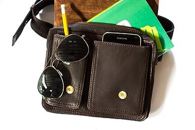 b13e88c2a61 Leather Hip Bag The Burn Notice Bag  Handbags  Amazon.com