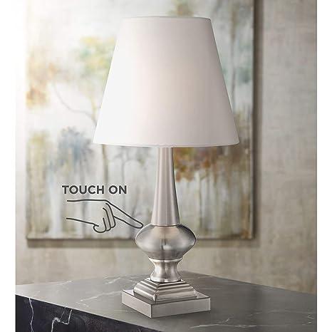 Amazon.com: Moderna lámpara de mesa de 19.0 in de alto de ...