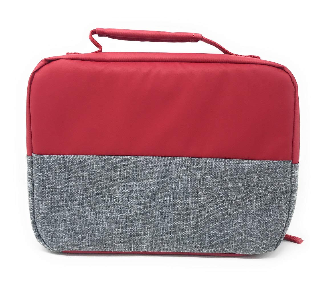 4272f46452c32c Amazon.com  Nike Jordan Kids Pivot Fuel Pack Insulated Lunch Box (Gym Red)   Kitchen   Dining