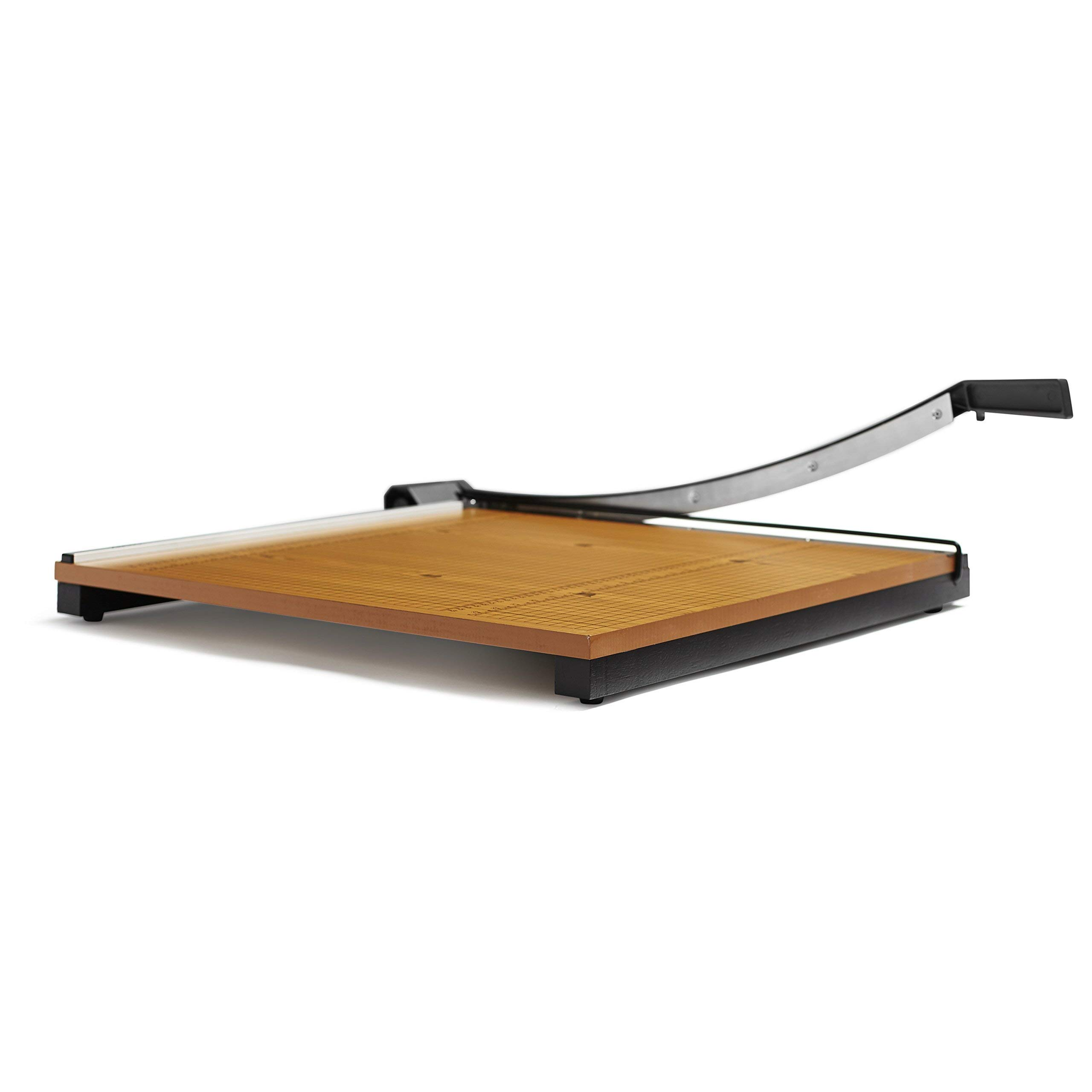 X-ACTO 24x24 Commercial Grade Square Guillotine Trimmer (Renewed) by X-Acto