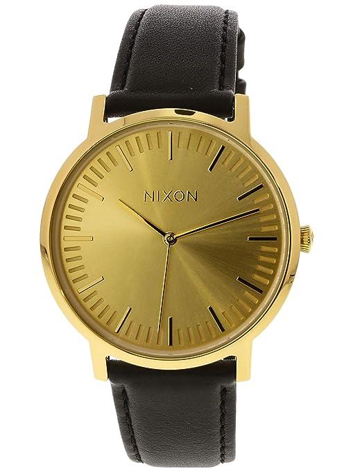 Nixon Reloj Digital para Hombre de Cuarzo con Correa en Cuero A1058-510-00