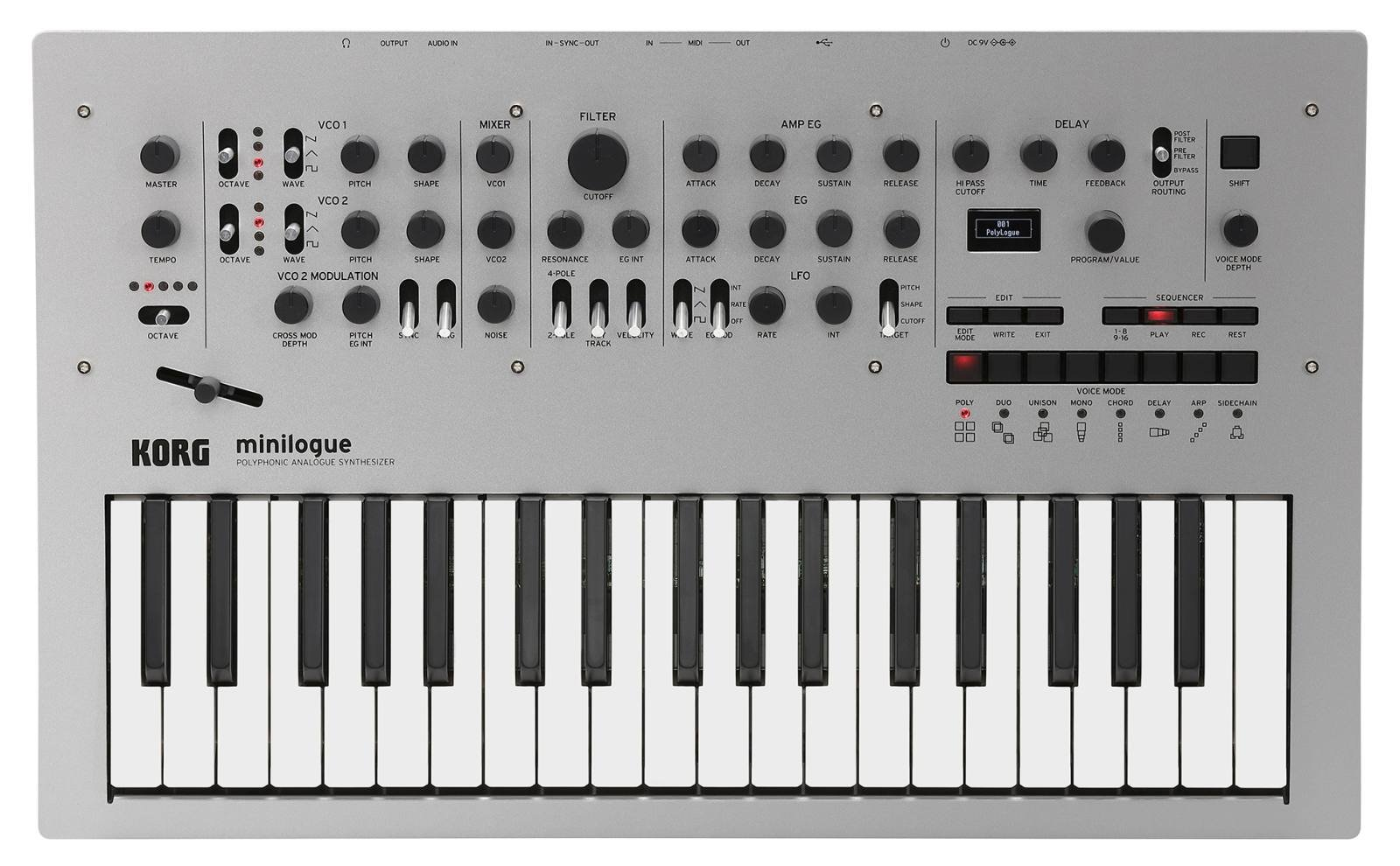 Korg Minilogue 4-Voice Polyphonic Analog Synth with Presets by Korg (Image #2)